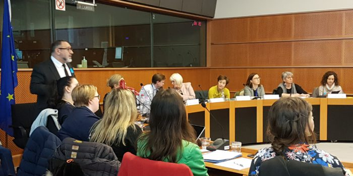 "Meeting Of The European Parliament Informal Carers Interest Group ""Young Carers – Challenges And Solutions"", 6 March 2018, European Parliament, Brussels"