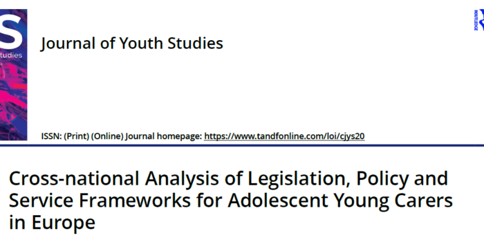 Cross-national Analysis Of Legislation, Policy And Service Frameworks For Adolescent Young Carers In Europe
